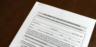 Document de voluntats anticipades