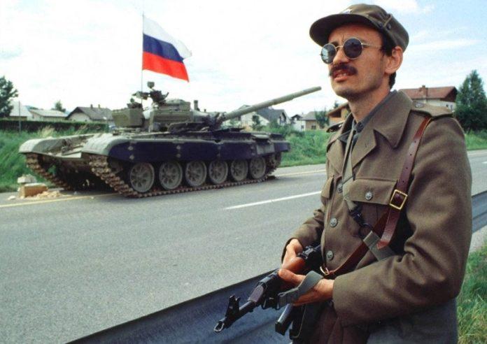 Via eslovena. Soldat eslovè. Eslovènia 1991