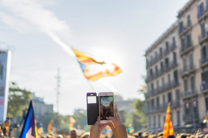 Manifestació independentista