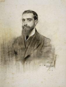 Retrat de Francesc Cambó fet per Ramon Casas