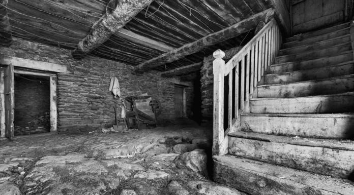 Foto d'Alex Tena, de l'interior de Can Gastó.