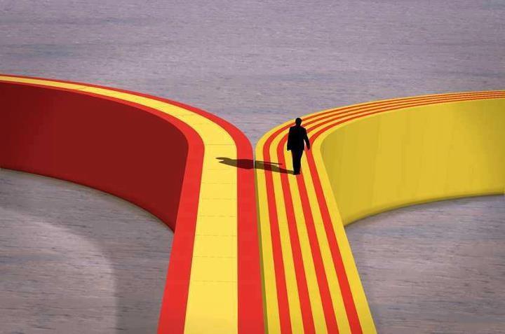 Il·lustració de Lluís Romero.